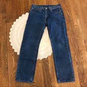 Levi's   Dark Wash 505 Jeans